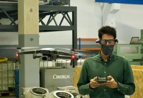 Vuzix M4000 Sensible Glasses Support Development Worksite Audit By way of DJI Drone - sUAS Information 1