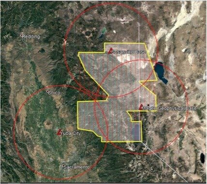 Low-Flying Airplane Mapping Components of Northeastern California - sUAS Information 1