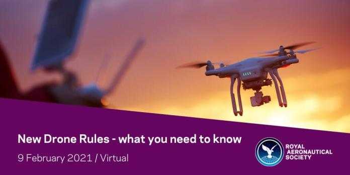 RAeS Seminar: New Drone Guidelines - what it's essential to know - sUAS Information 1