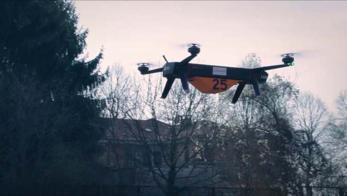 Leonardo carries out 25kg check deliveries in Italy - sUAS Information 2