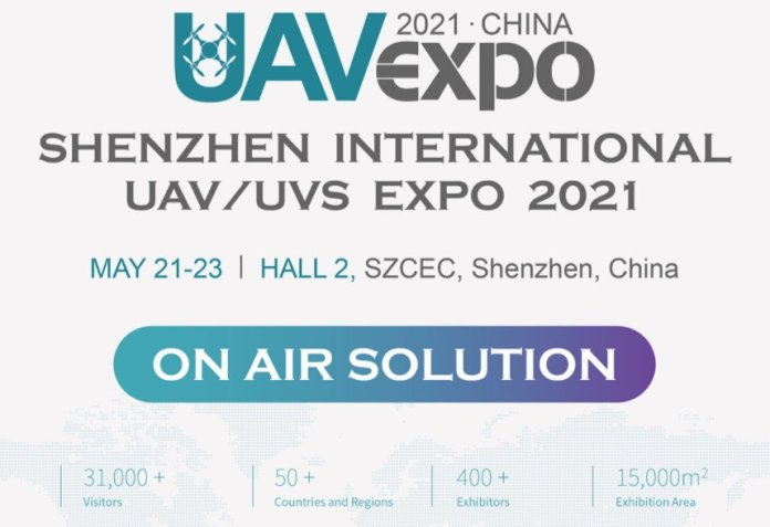 Shenzhen Worldwide UAV Expo On-Air Answer Could 21st to 23rd - sUAS Information 3