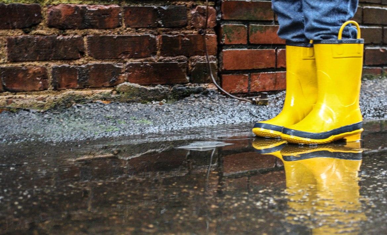 Rain, Rain, Go Away! Rain Boots for Men.