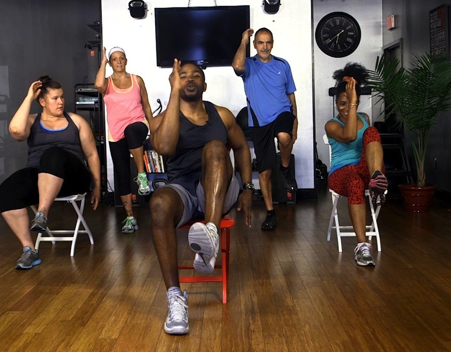 Get A Full Body Workout with Chair Workouts