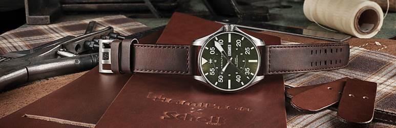 Hamilton x Schott NYC Launch Unique Limited Edition Pilot Watch
