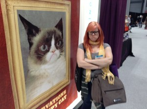 Book Expo America-Chronicle Books-Grumpy Cat-BEA 2014-Subcultured01