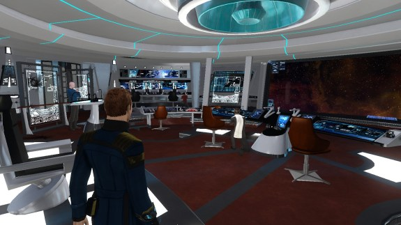 Star Trek Online, Kelvin Timeline, USS Yorktown Bridge, iPhone store