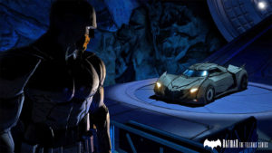 batman telltale batmobile