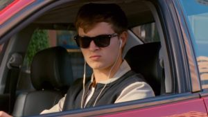"Ansel Elgort is Baby in ""Baby Driver"""
