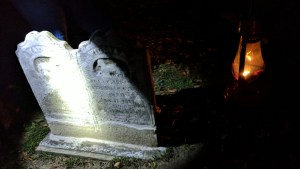 Plenty of spooky sights during the lantern-lit walking tour of the Sleepy Hollow Cemetery