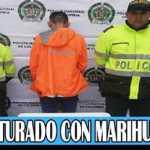 Policía del CAI Gaitana captura a joven que portaba marihuana en el barrio Alcaparros de Suba