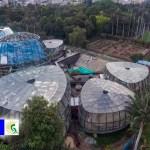 Alcalde Peñalosa presentó avance de obra del Tropicario más grande de Colombia