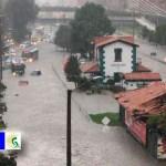 Fuertes lluvias inundan el norte de Bogotá