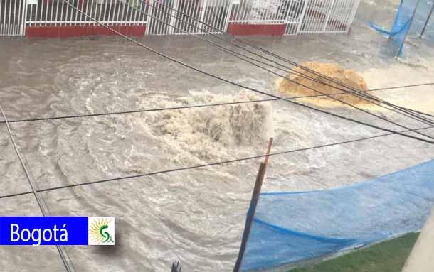 Autoridades hacen un llamado para no botar basura en la calle, ya que causa inundaciones y taponamientos
