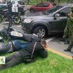 Habla general del Ejército que frustró robo en Bogotá junto a su escolta