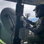 Lanzamiento de volantes, misión aérea de CATAM