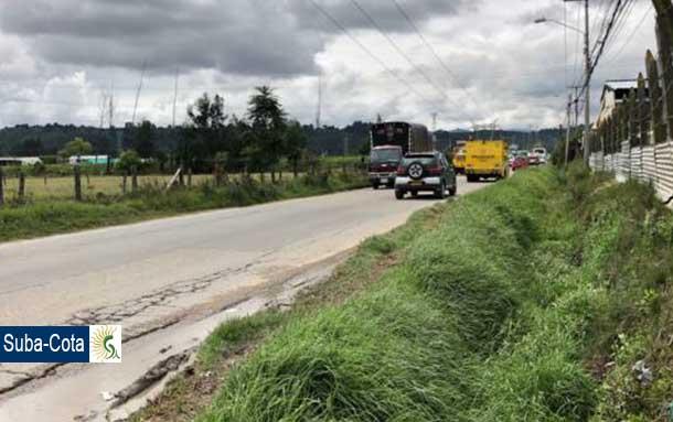 Se firma convenio que busca mejorar el corredor vial de Cota con la localidad de Suba