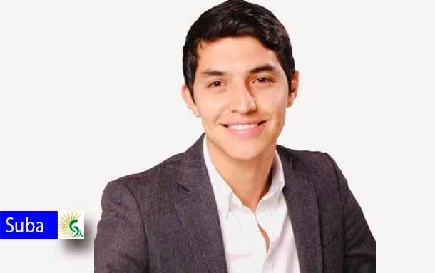 El alcalde local de Suba, Julián Andrés Moreno entrega recomendaciones para esta temporada navideña