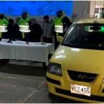 Uniformados de la Policía capturaron en la localidad de Suba a cuatro hombres señalados de hurto