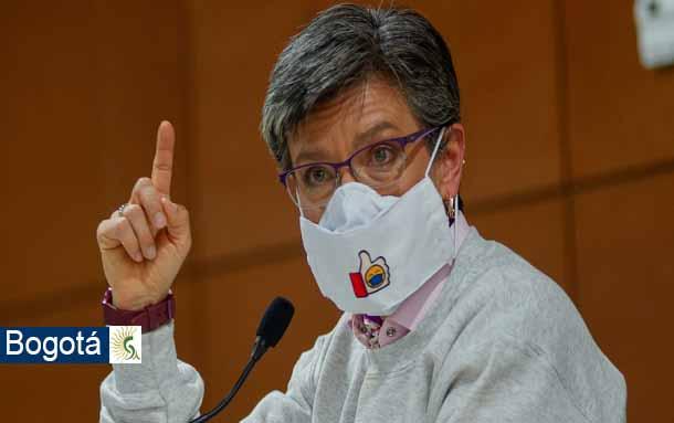 Este fin de semana no habrá cuarentena estricta en Bogotá, anunció Claudia López