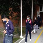 Alcalde de Suba acompañó retorno a clases oficiales en la localidad
