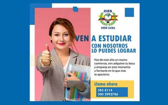100 jóvenes y adultos de Suba podrán beneficiarse con programa social de becas educativas: CIES