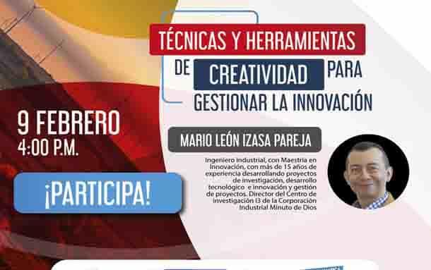 Creatividad e innovación para empresarios cundinamarqueses
