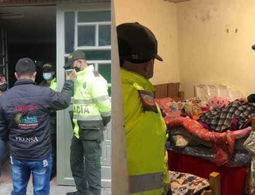 Policía Local y Suba Alternativa, aliados en la entrega de ayuda humanitaria para la población vulnerable de la localidad