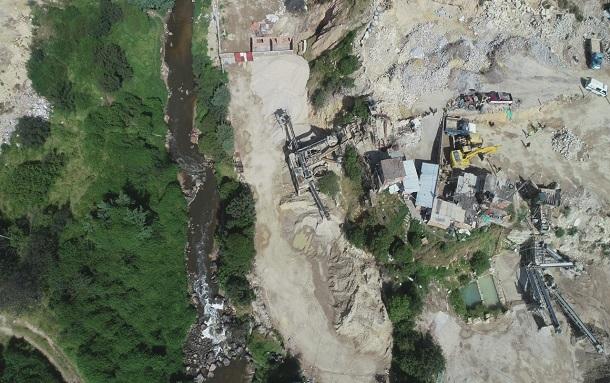 Secretaría de Ambiente: afectación ambiental en el río Tunjuelo