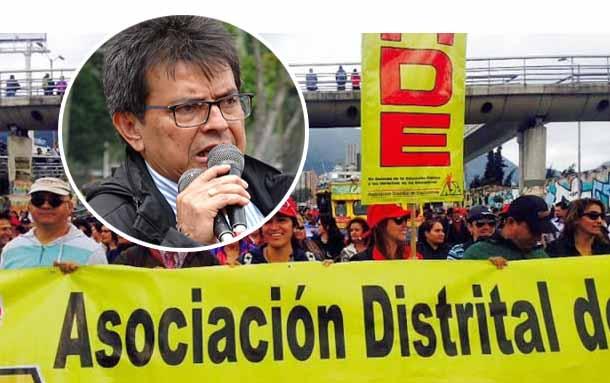 Paro de profesores de la ADE este viernes en Bogotá