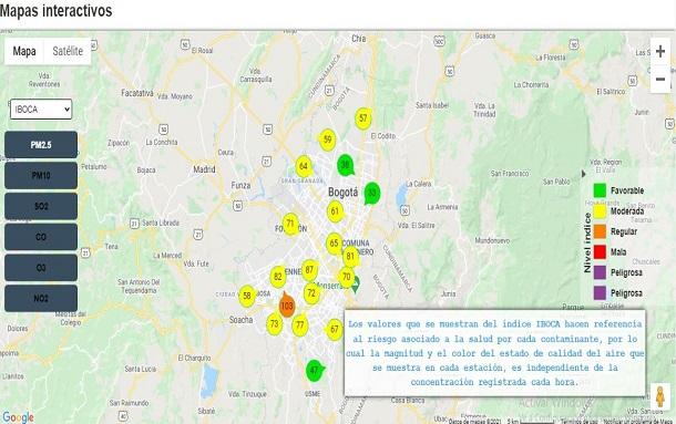 Impacto del polvo del Sahara en la calidad del aire de Bogotá ha sido moderado