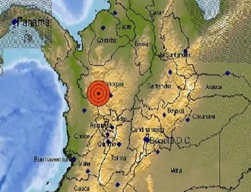 Acaba de temblar en Colombia la tarde de este lunes