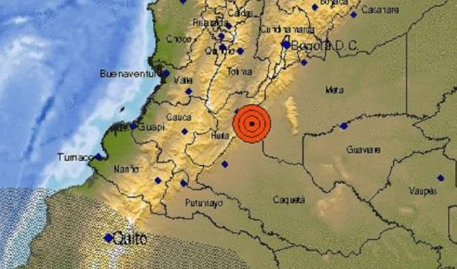 Nuevo temblor sacude al Colombia; se sintió en varias regiones del país