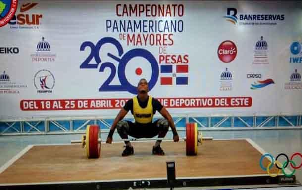 Santiago Rodallegas obtiene medalla de oro en Campeonato Panamericano de Pesas