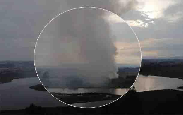 Se registra fuerte explosión en Bogotá, hay personas lesionadas