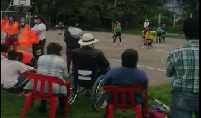 Torneo Relámpago por la paz en el barrio Corinto en suba
