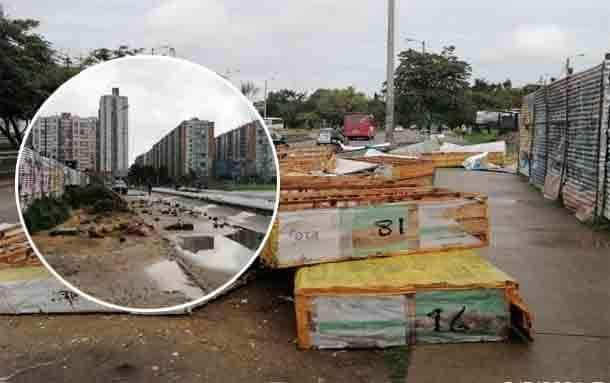 Secretaría de Educación rechaza actos vandálicos en obra de colegio de Suba