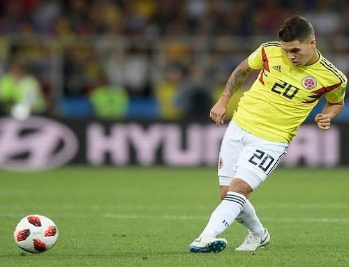 Juan Fernando Quintero no estará con Colombia en la Eliminatoria ante Perú y Argentina
