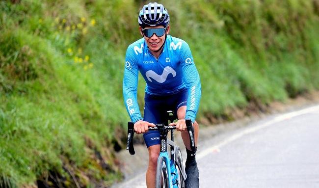 'Supermán' López acaba de ganar la etapa reina de la Vuelta a Andalucía y nuevo líder