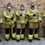 Bomberos de Bogotá cuentan con nuevos uniformes para atención de incendios