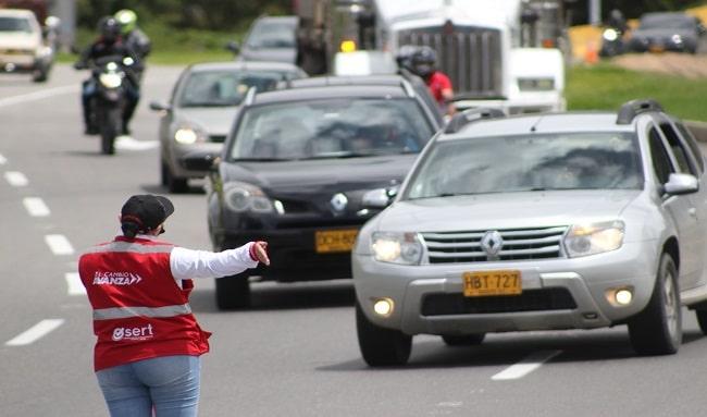 Más de 20.000 mil vehículos ingresaron este lunes 7 de junio por la Autopista Sur