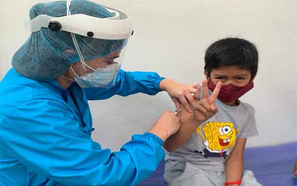 Más de 8 mil dosis fueron aplicadas durante la Primera Jornada Departamental de Vacunación en Boyacá