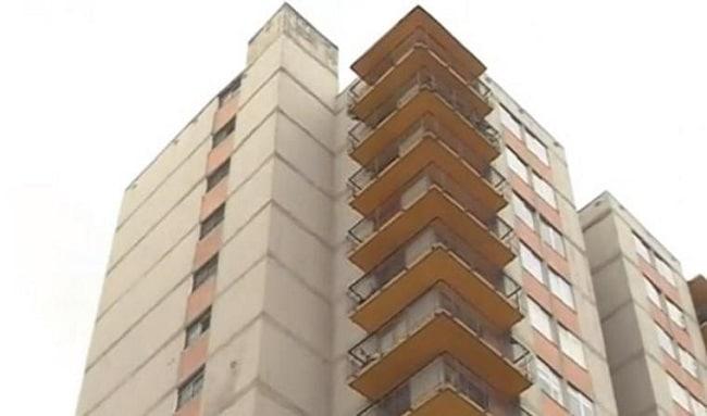 Niña de dos años de edad cayó al vacío desde un décimo piso en Bosa