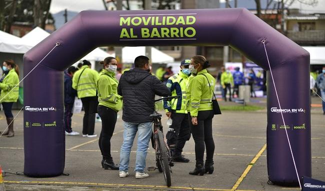 Movilidad al Barrio llega a la localidad de Puente Aranda