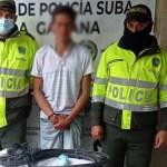 Capturan sujeto por robar 20 metros de cable dúplex de movistar en el barrio La Gaitana