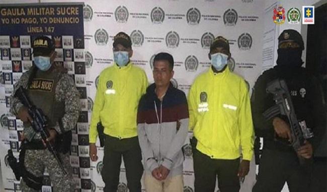 A la cárcel alias el enano, presunto sicario del 'Clan del Golfo'