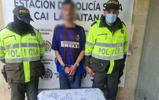 En San Carlos de Tibabuyes fue capturado un sujeto por porte, tráfico y fabricación de estupefacientes