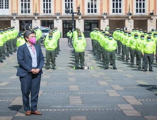 500 nuevos policías llegan a Bogotá a reforzar seguridad y mejorar convivencia