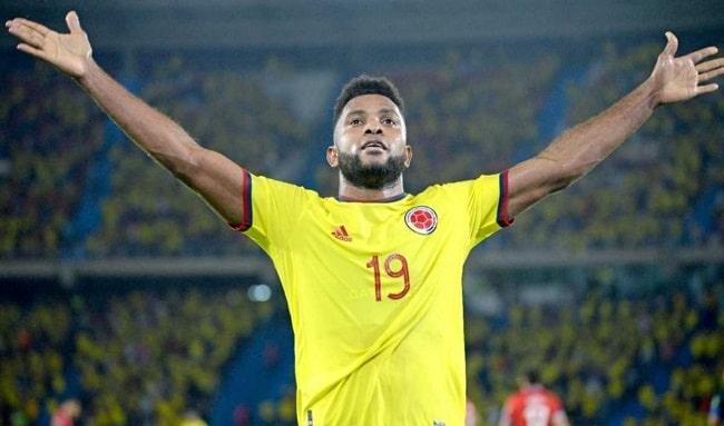 Miguel Borja podría quedarse fuera por lesión en la Selección Colombia