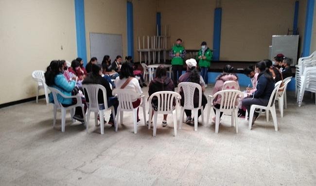 Comenzó el proceso de formación de mil mujeres que reverdecerán a Bogotá