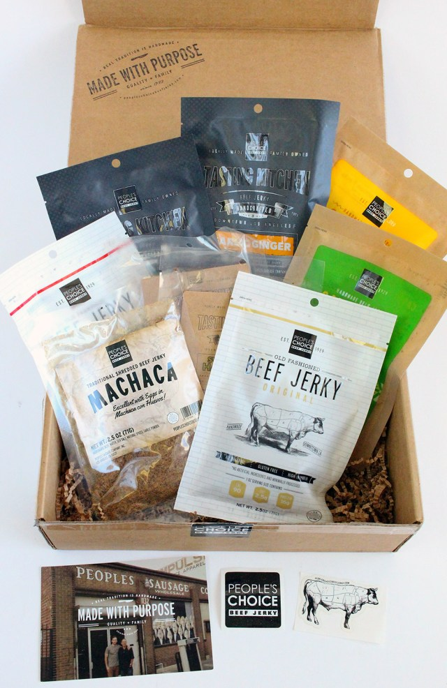 People S Choice Beef Jerky Review 15 Coupon June 2016 Subaholic Subscription Box Reviews